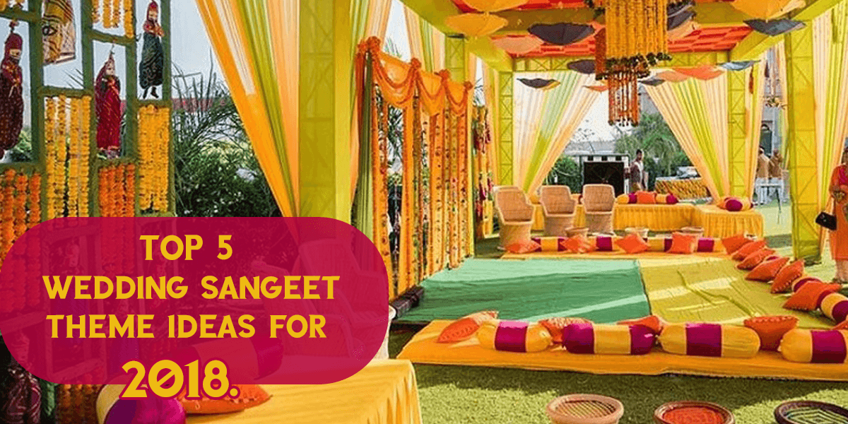 Wedding Sangeet Ideas Wedding Decor Ideas
