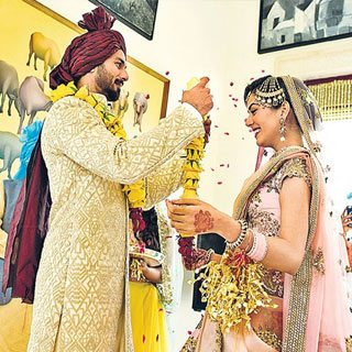 Mira weds Shahid Kappor