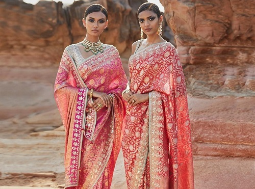 From Classic to Traditional: Glimmering Designer Gota Patti Sarees to Augment Your Beauty!
