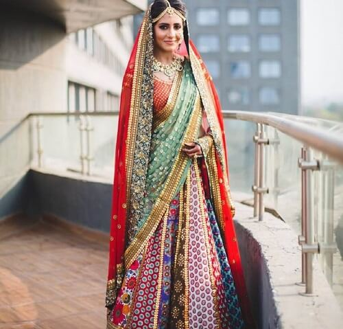 Utter Chic Double Dupatta Color Combinations For Levelling Up Your Bridal Game