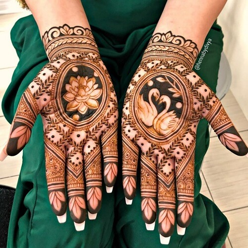 30 Lotus Mehndi Designs For Your Gorgeous Henna Design