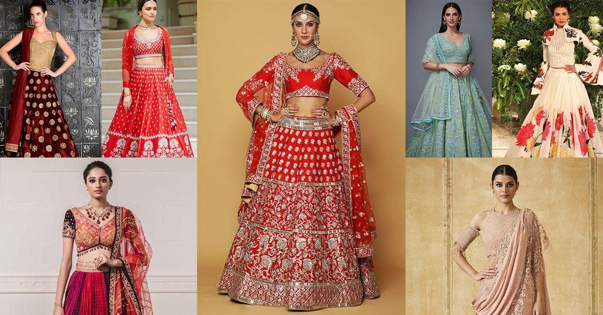30+ Chic Style Head Turner Designer Wedding Lehengas for Intimate Weddings