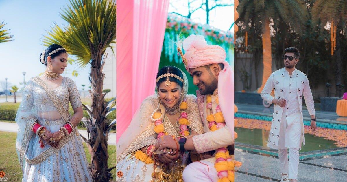 Glamorous Indian Wedding Adorned With Grace - Shobita Weds Mayank