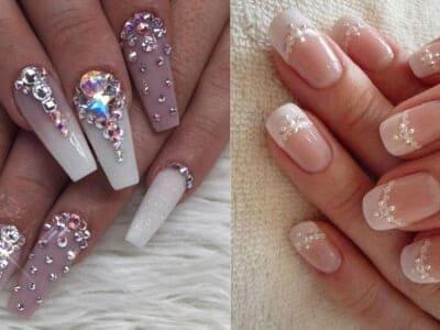 Translucent Nailart Cum Modern Manicure - Just Loving It for 2021!