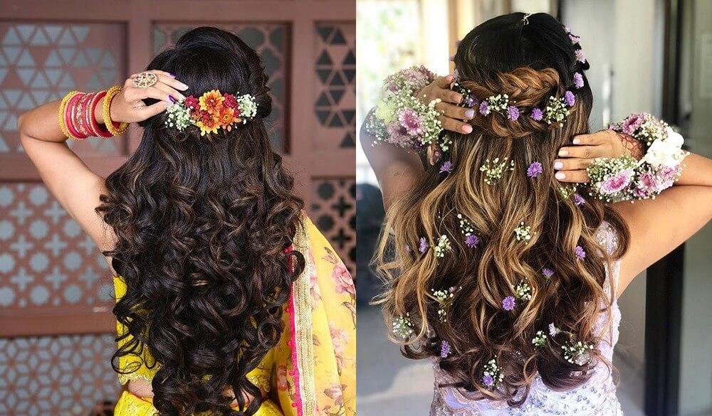 Awe - Inspiring Bridal Hairstyles For A Minimal Yet Mesmeric Look!