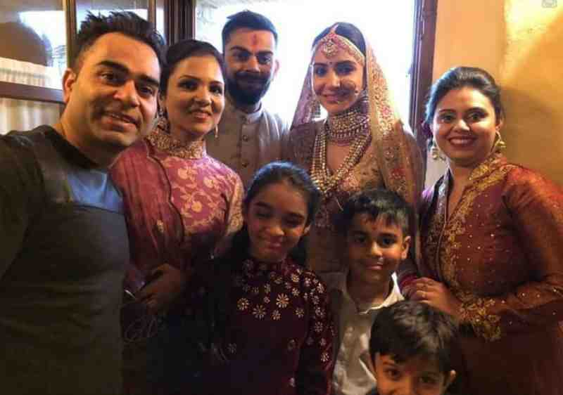 Family after virushka wedding