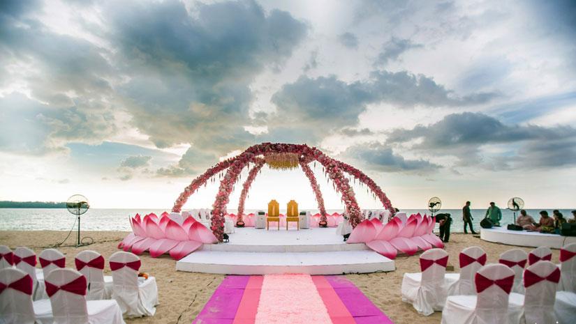 Exoctic Wedding Venue