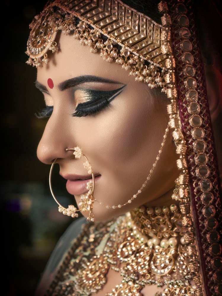 Indian Bride Nosering