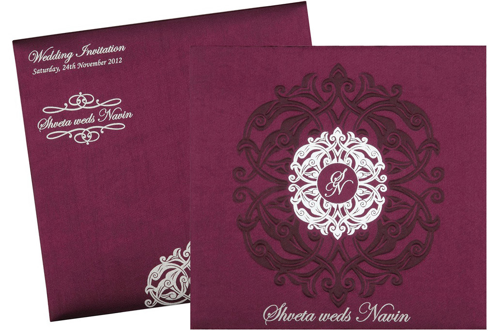 Pious Theme Wedding cards
