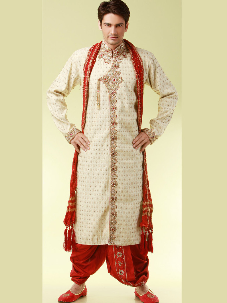Punjabi Sherwani For Grooms