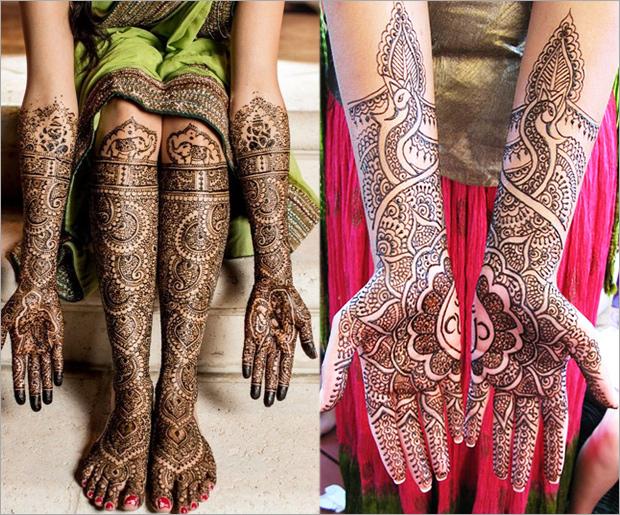 Rajasthani Mehandi Designs