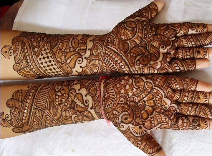 The Chequered Pattern of Mehandi