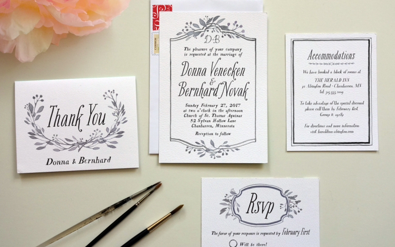 Wide Variety of wedding cards