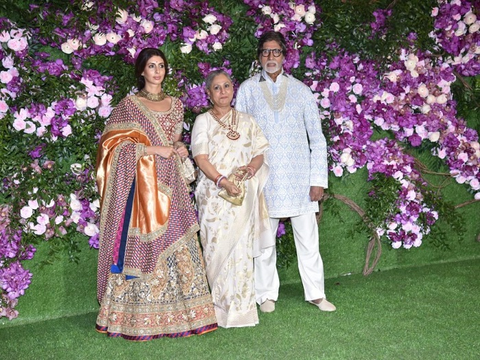 amitabh at ambani's wedding