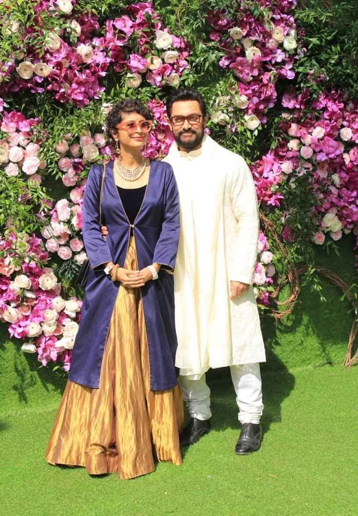 aamir khan at akash ambani wedding
