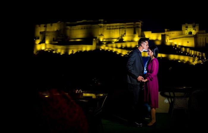 pre wedding shoot at amer fort