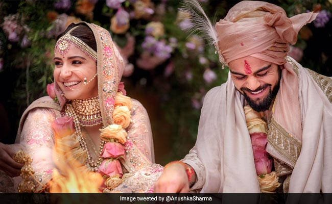 Wedding Day of Anushka Sharma And Virat Kohli
