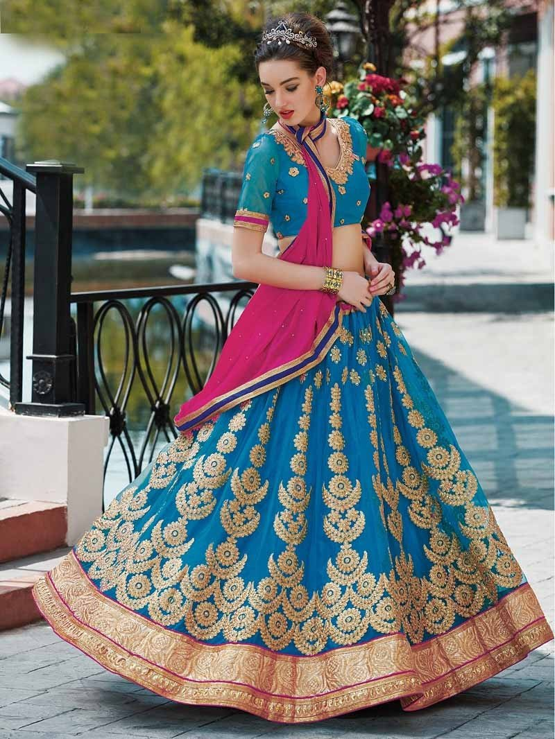 Wedding Predicts: Five Lovely Bridal Lehenga Colors for 2018 ...