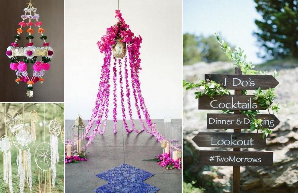 boho Style Wedding Themes