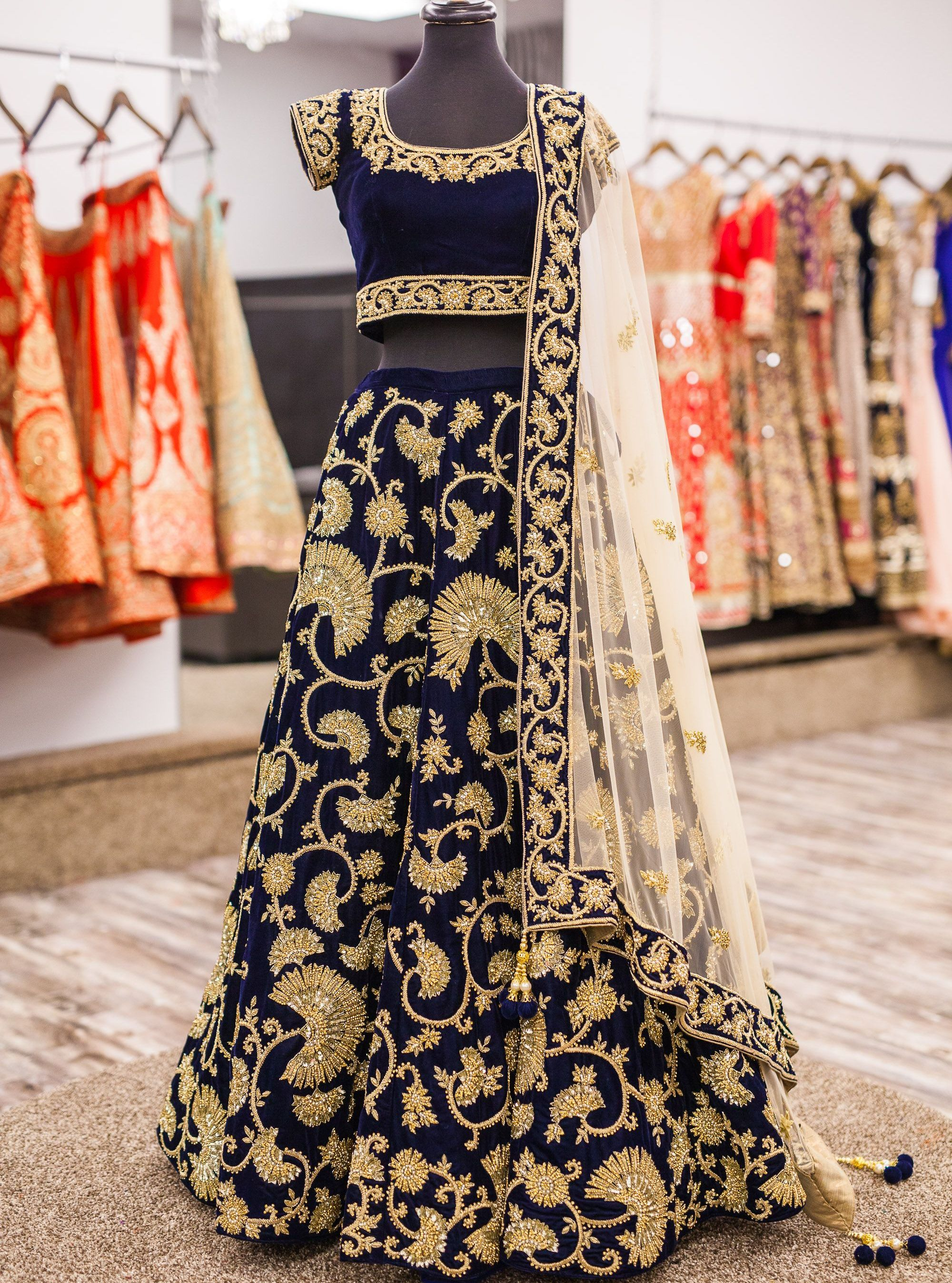 Visit Designer For Wedding Lehenga
