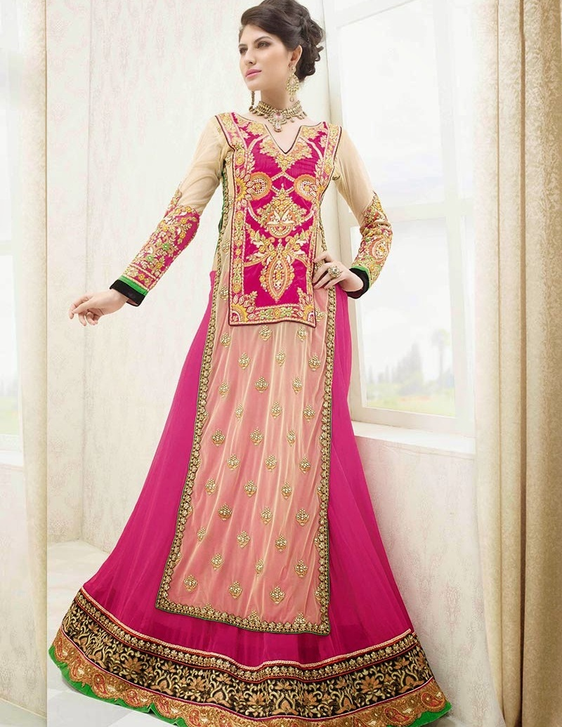 Add Saree Border In Skirts