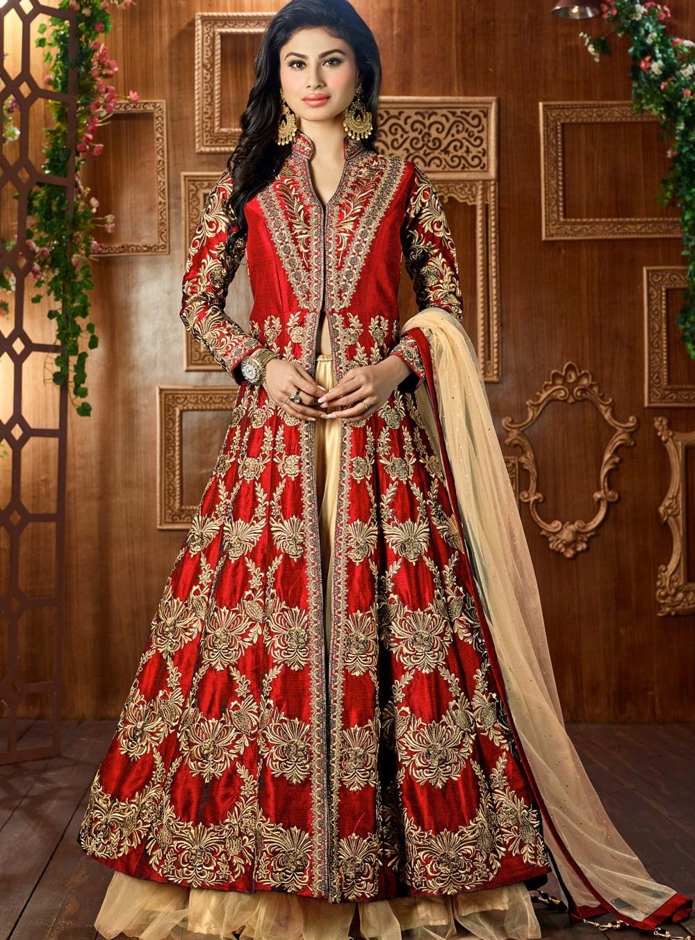 Jacket Lehenga Designs