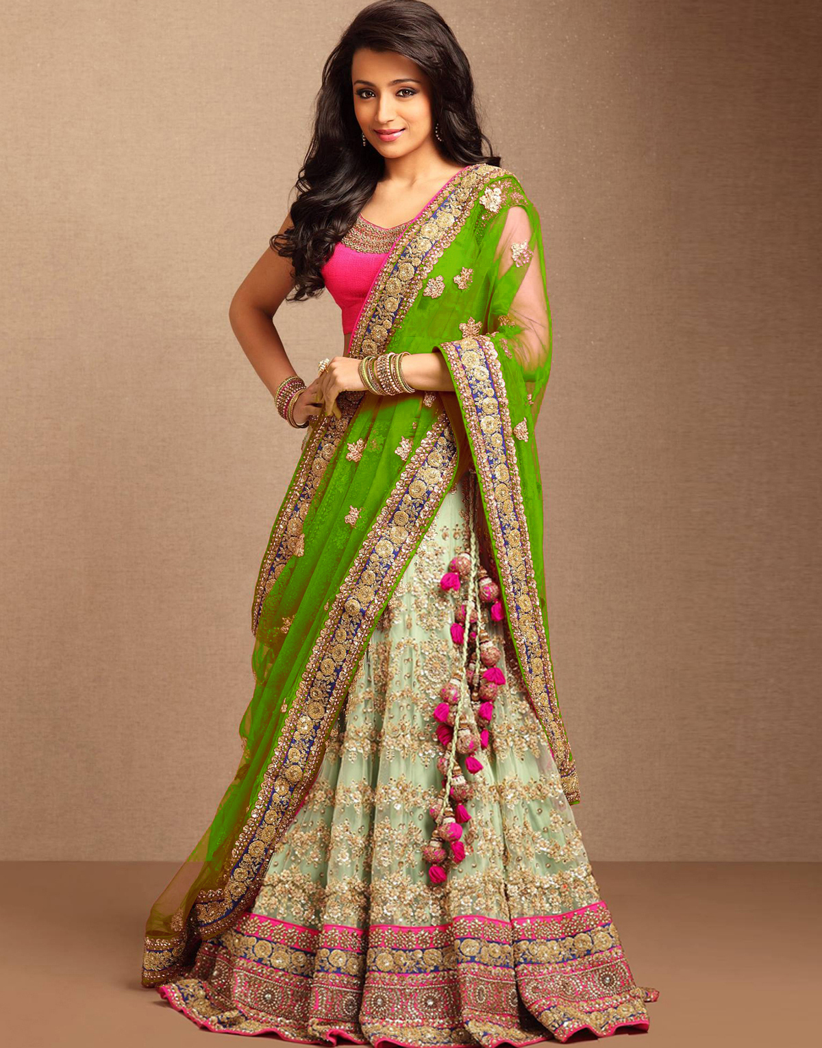 Mix And Match Wedding Lehenga Mirraw
