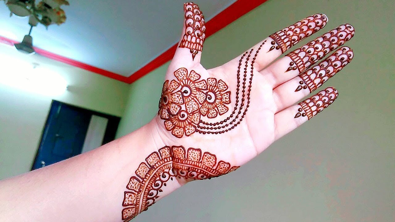 Best Design Of Bridal Mehndi