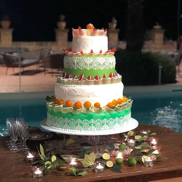 wedding cakes with name