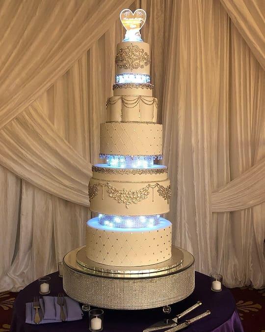 wedding cakes simple designs