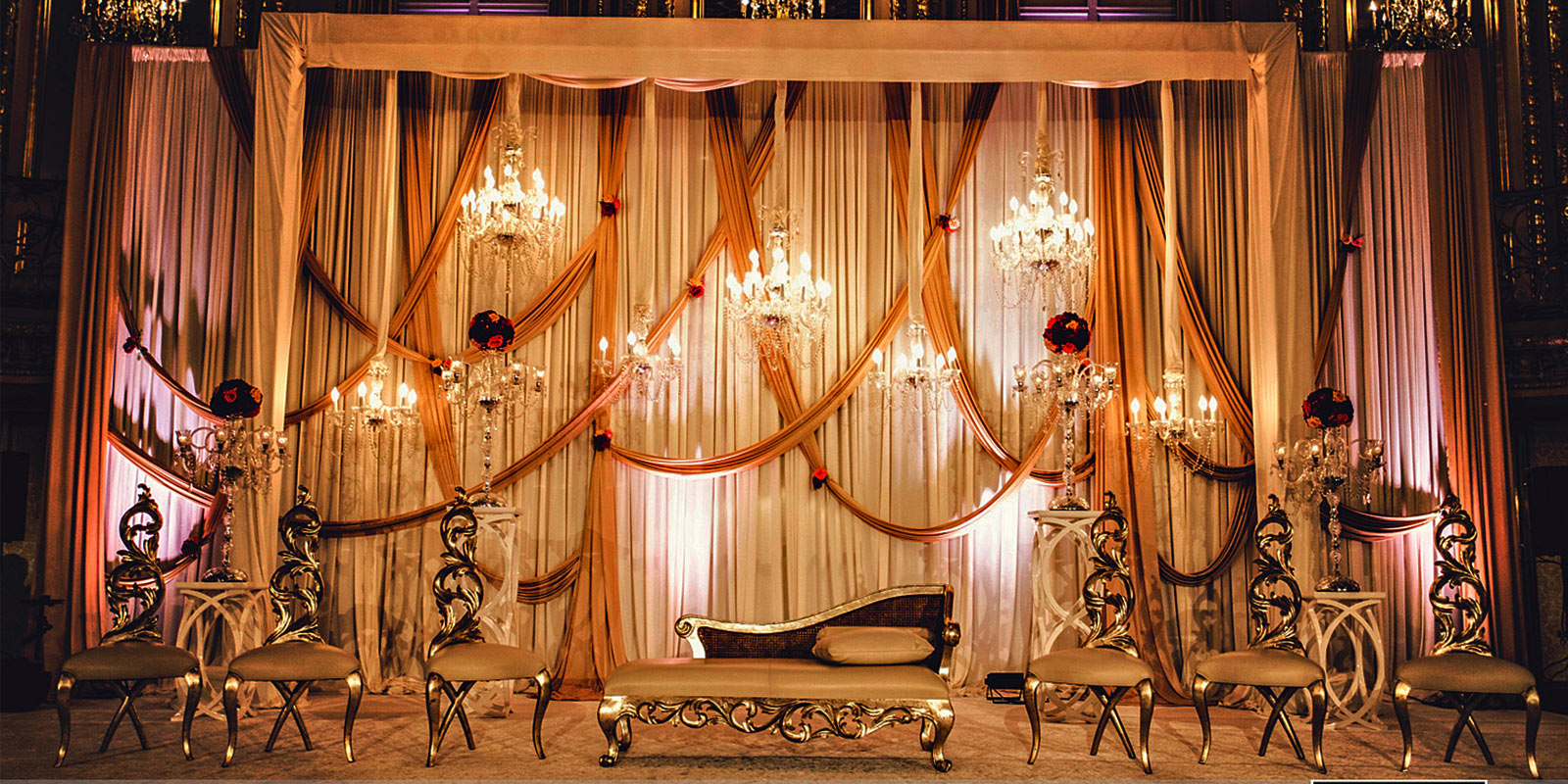 wedding stage decorators