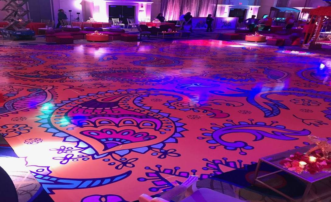 Printed Dance Floor