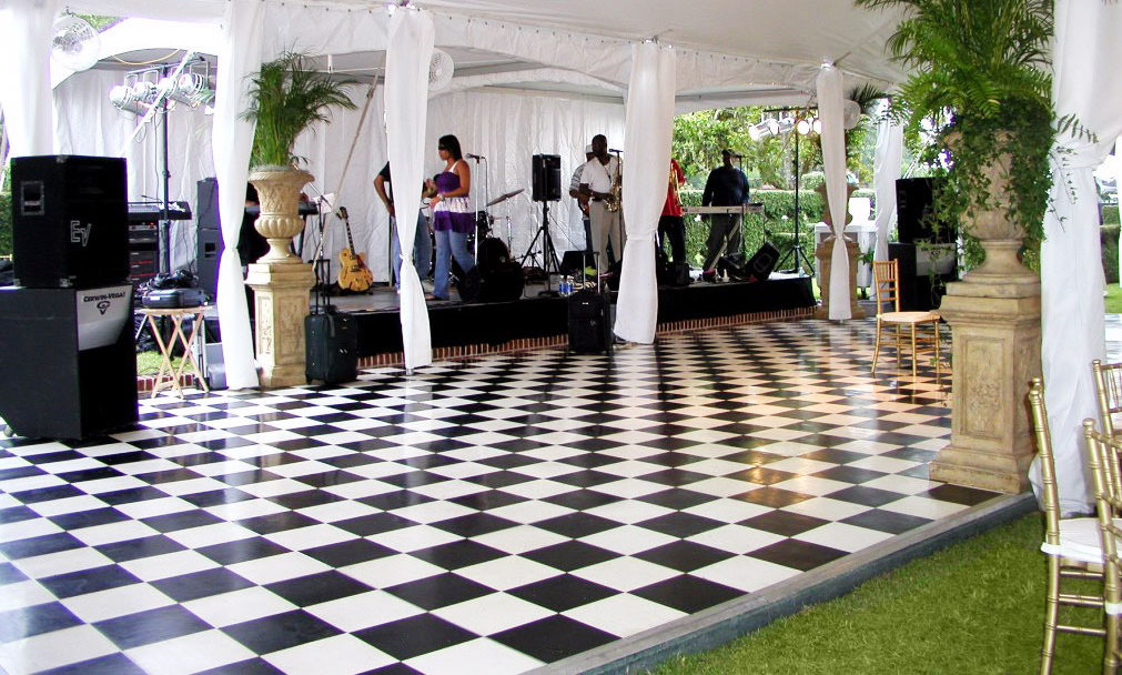 Checkered Dance Floors