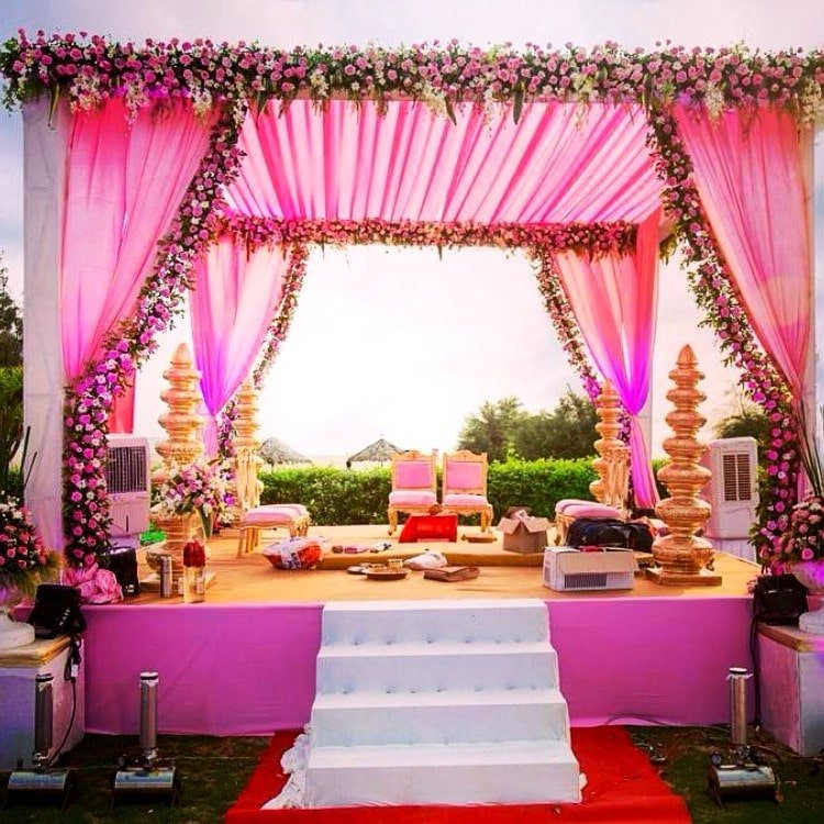 Dazzling Mandap Decoration Ideas For Your Wedding 2019