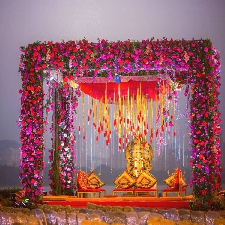 wedding mandap decoration images