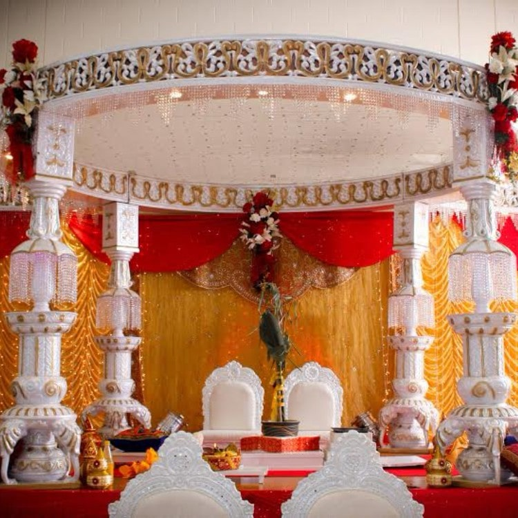 flower decoration ideas for wedding mandap