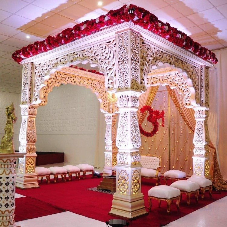 mandap decoration images