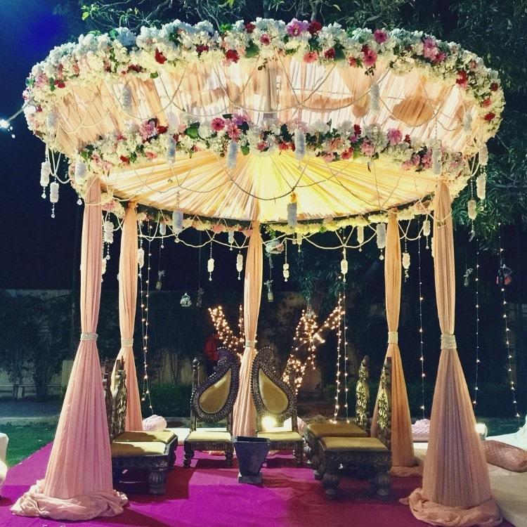 Dazzling Mandap Decoration Ideas For Your Wedding 2019
