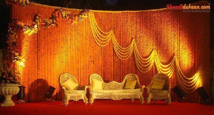 stage decoration ideas for marriage