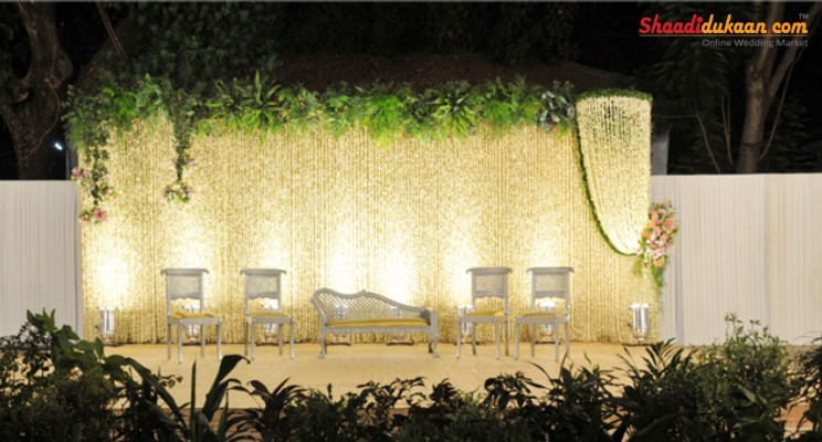 elegance stage decoration ideas