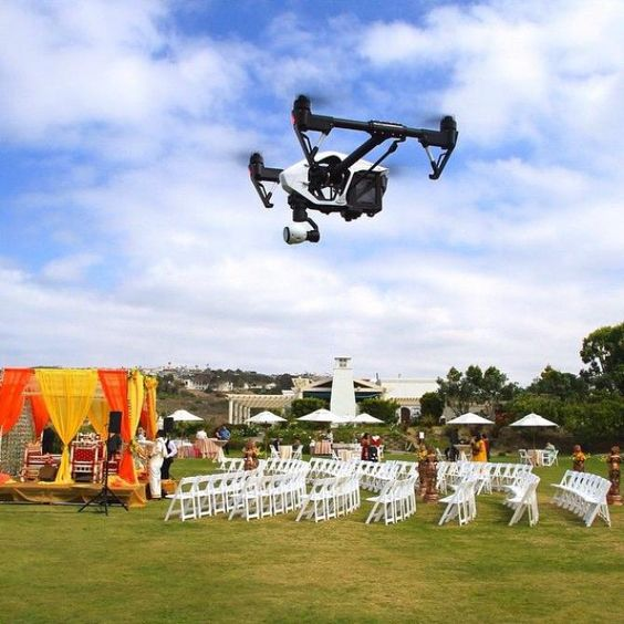 drone videography destination wedding trend 2019