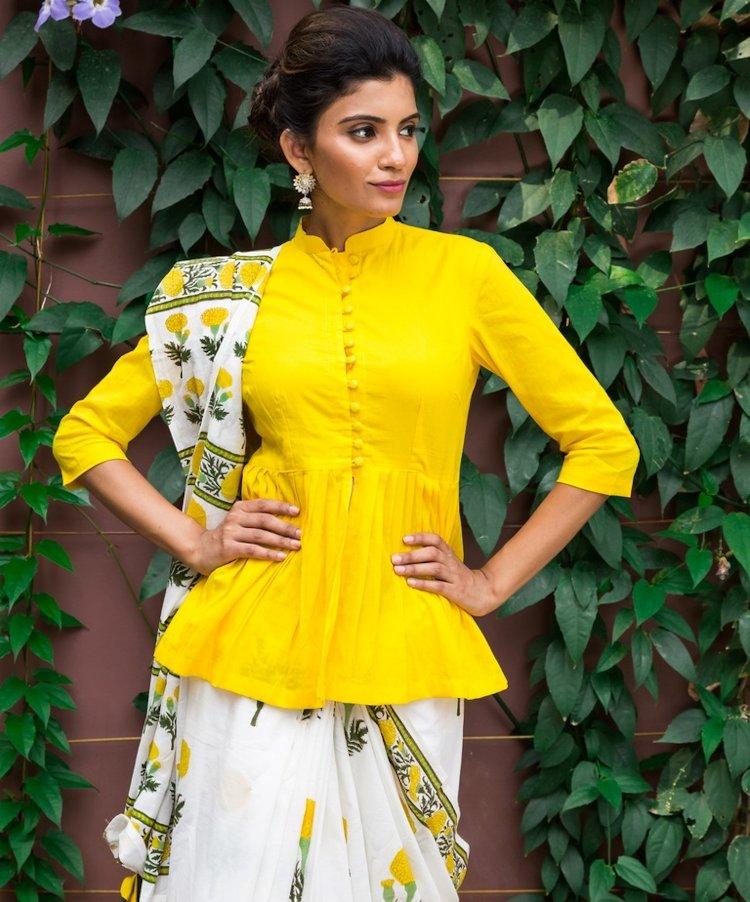 peplum blouse design
