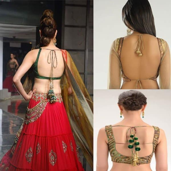 blouse design back neck