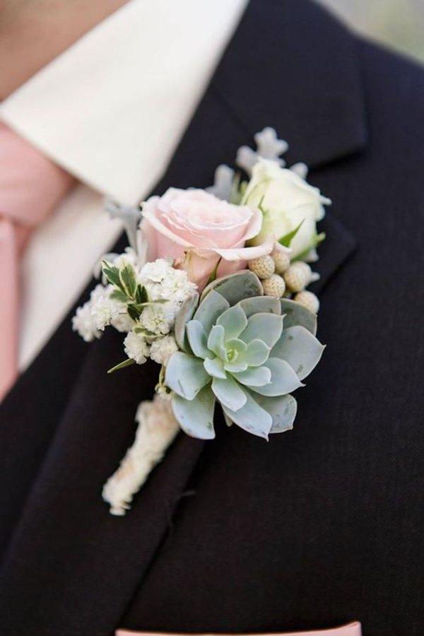 boutonniere -engagement dresses for man