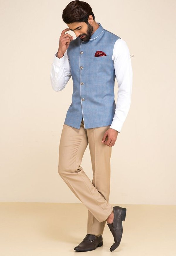 nehru jacket - engagement dress for men