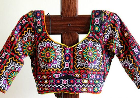 Rajasthani Mirror Work Blouse Designs