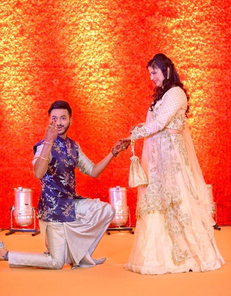 Arinjay In His Quirky Nehru Jacket And Kurta Pajama