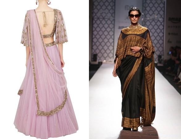 Kimono Sleeve Blouse Designs