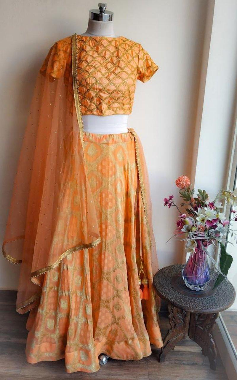 banarasi bridal lehenga in mumbai