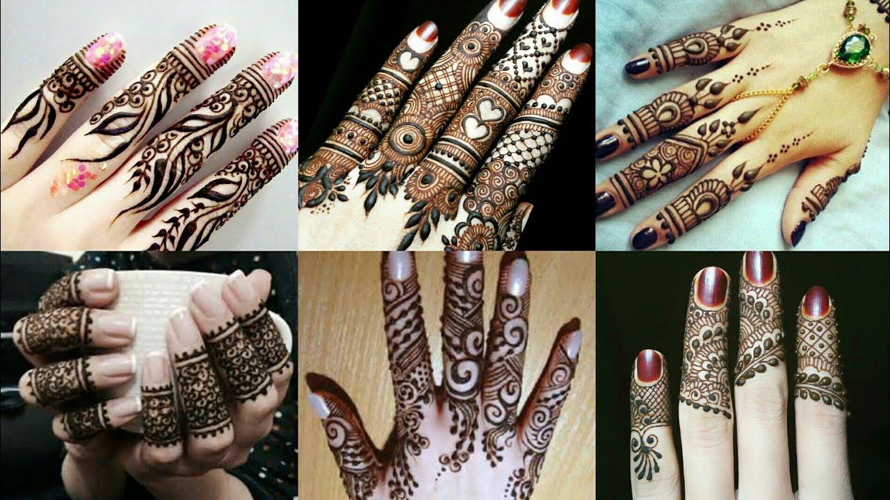 Finger Mehandi Design